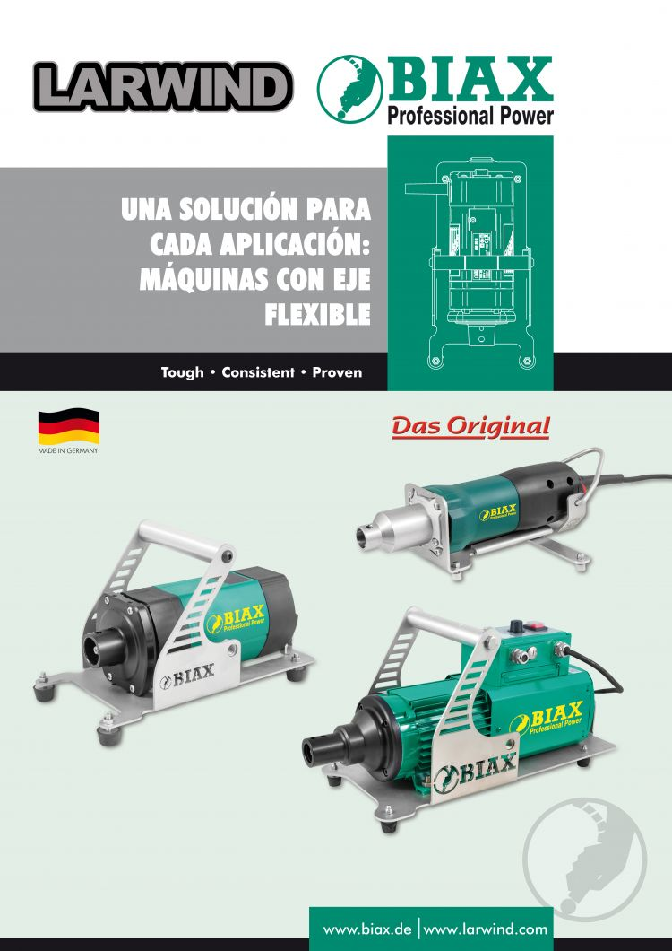 Descarga CATALOGO MAQUINAS DE EJE FLEXIBLE BIAX